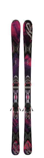 K2 Superfree 76 Ladies Skis for 2014.A sidewall all mountain ski with a versatile waist-width for added control and performance that will set your skiing free on groomed or un-groomed terrain.#ski #women