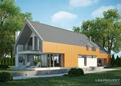Projekty domów LK&Projekt LK&1167 wizualizacja 2