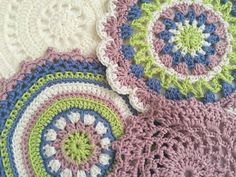 Sonia's Crochet Mandalas + 10 Things To Do To Ease Depression Relapse