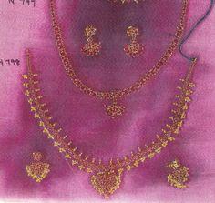 Rubies n Emerald Necklace & Earrings Sets