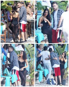 Liam and Sophia enjoying the beach in Eze sur Mer in France - 25 May.sophia looks so pretty! One Direction Girlfriends, The Girlfriends, Sophia Smith, Larry Shippers, Liam James, Louis And Harry, 1d And 5sos, Second Of Summer, Liam Payne
