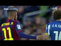 Neymar vs Espanyol • La Liga • 7/12/14 [HD]