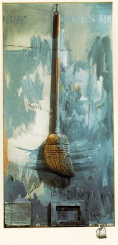 Jasper Johns, Fool's House (1962)