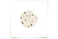 Criss Cross by annie clark at minted.com... also can be done in blues and pinks