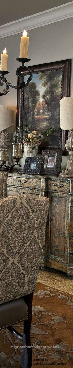 Magnificent Mediterranean/Tuscan/Old World Decor  The post  Mediterranean/Tuscan/Old World Decor…  appeared first on  Migno Decor . #tuscandecor