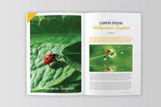 InDesign Magazine Templates by Indotitas on @creativemarket