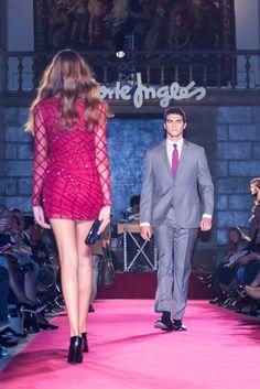 O #fato que combina com todas as cores de #gravata! #Moda #Desfile #Festa #Inverno #ElCorteInglés