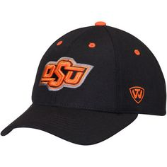 new style 48ea1 ad2fe Oklahoma State Cowboys Top of the World Triple Threat Adjustable Hat - Black