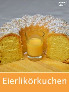 This simple and quick recipe for a juicy egg liqueur cake ensures . - Kuchen- und Backrezepte - This simple and quick recipe for a juicy egg liqueur cake is sure to delight. Egg Recipes, Quick Recipes, Quick Easy Meals, Baking Recipes, Cake Recipes, Dessert Recipes, Desserts, Eggnog Cake, Easy Healthy Breakfast