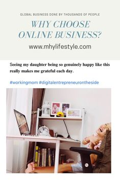 Do an online business from the comfort of your own home Successful Online Businesses, Global Business, Own Home, Helping People, To My Daughter, Digital