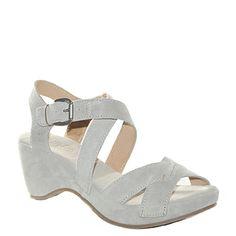 #Sandalo con la zeppa in camoscio grigio di #Khrio  http://www.tentazioneshop.it/scarpe-khrio/sandalo-zeppa-14046-grigio-khrio.html