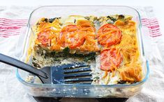 Creamy 3-Cheese Spinach and Mushroom Lasagna [Vegan] - One Green PlanetOne Green Planet