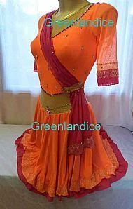 Yasmin design ice dance dress