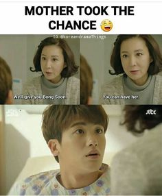 from strong woman do bong soon, such a funny kdrama! W Kdrama, Kdrama Memes, Funny Kpop Memes, Kdrama Actors, Korean Drama Funny, Korean Drama Quotes, Korean Drama Movies, Korean Dramas, Strong Girls