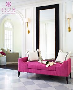 The Reese Bench from Plum Furniture. Designed by Colleen McGill of McGill Design Group Inc www.mcgilldesign.ca