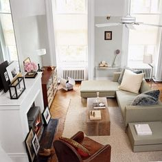 high ceilings and neutral pallet
