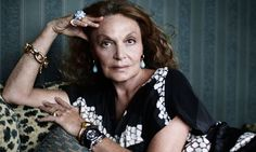 Staying power: self-made woman DVF is still going strong. Photograph: Patrick Swirc for the Observer