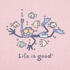 XL. $24-28. V-neck if possible. Life is good: #Snorkeling - :) Visit us at http://www.snorkel-mart.com