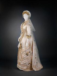 1879 Wedding Dress