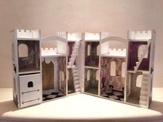 creativecamelot on etsy personalized castles and room decor - Painted Wood Castle 2015