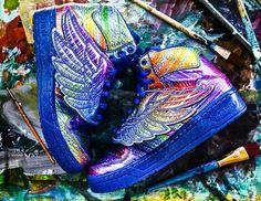 """Hologram"" Jeremy Scott x Adidas Originals JS Wings"