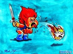 GARBAGE PAIL KIDS (POSTER) .....!!!!!  NAME : LION OWEN / HAIR BILL .....!!!!!  BY : MPING82 .....!!!!!  http://mping82.deviantart.com/  #GPK   #GARBEGEPAILKIDS   #BASURITAS  #LESCRADOS   #ASQUEROSITOS   #GANGDOLIXO  #DIETOTALKAPUTTEN   #ぶきみくん   #BUKIMIKUN  #AMANKAYFLOWER   #BRUJO  #חבורת הזבל