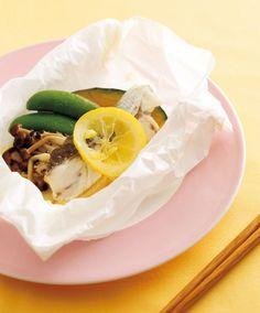 たらの塩レモンバター蒸し焼き | レシピ | ダイエット、レシピ、運動のことならフィッテ | FYTTE