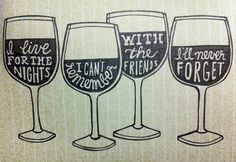 BlendAbout: Because spending Wine Wednesday with friends is much more fun.