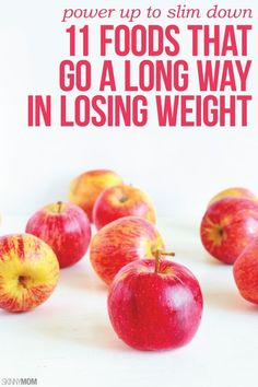 Here are 11 foods that will help you lose weight fast. #weightloss #eatclean