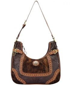 Brown Leather Hobo Bag Annie S Secret By American West Handbags Wallets Women