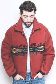 Pendleton Southwestern Blanket Jacket