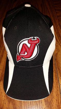 New Jersey Devils NHL Hat Cap NWOTFlexFit ONE SIZE FITS ALL by Reebok   Reebok  NewJerseyDevils 81ec904a9e4a