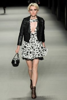 Saint Laurent Spring 2014 Ready-to-Wear Fashion Show