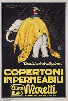 ✔️ Copertoni impermeabili Moretti Milano