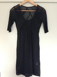 TRADE ME Buy now $70 Listing # 749822774 ZIMMERMAN Sheer detail fitted dress