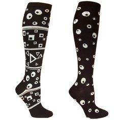 Circle Dot Socks Women's 2PK, $16, now featured on Fab.