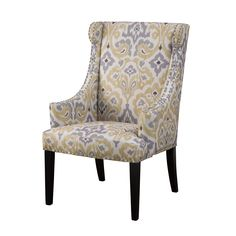 madison park lucy high back wing chair yellowgrey overstockcom amazoncom furniture 62quot industrial wood