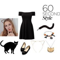 Sans titre #89 by taytay8502 on Polyvore featuring moda, BP., Monsoon, Halloween, 60secondstyle and animalcostume