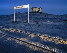 #Obie Oberholzer - Abandoned train station, Kolmanskop, Namibia