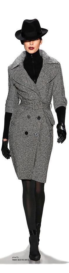 Zang Toi kick ass coat. love how it's the perfect mix of masculine + feminine!