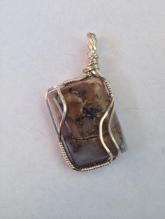 Picturesque jasper hand wrapped by laurie