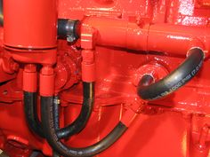 LEHMAN FORD Oil line installation -  Oil leaves the block (810-0309) from lower…