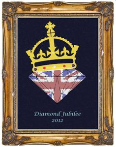 Diamond Jubilee 2012 1st design - Garment Printing