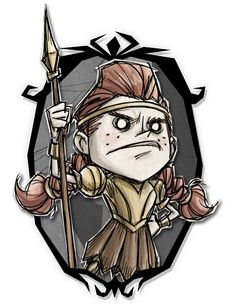 Don't Starve Together - Wigfrid Guest of Honor Art