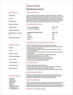 hair stylist resume template 8 free samples examples format download hair stylist sample resume