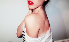 One day I will do a red lip