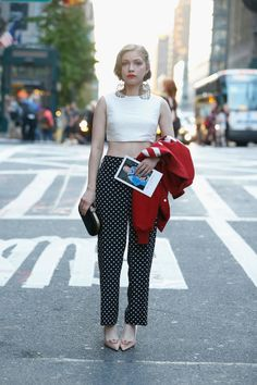 3. Tavi Gevinson at the Bill Cunningham tribute | This Week's Top 10 Fab And Drab Celebrity Looks