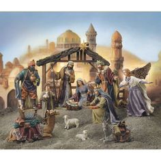 Astounding 104 Best Nativity Scenes Images In 2019 Christmas Manger Download Free Architecture Designs Jebrpmadebymaigaardcom