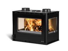 Looking for a corner fireplace? All of our corner fireplace range come expert advice and delivery to you. Fireplaces For Sale, Stove, Home Appliances, Ebay, Design, 3 Face, Products, Wood Burning Fireplaces, Iron Doors