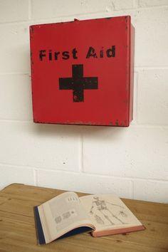First Aid Wall Box